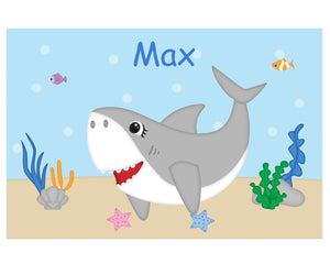Shark Attach Kids Placemat