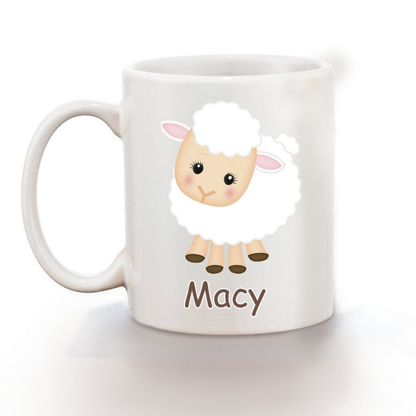 On the Farm Sheep Kids Mug