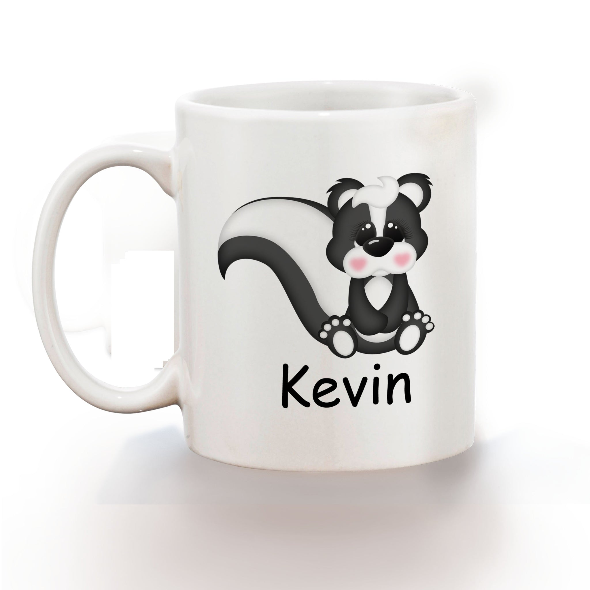 Cute Woodland Skunk Kids Mug
