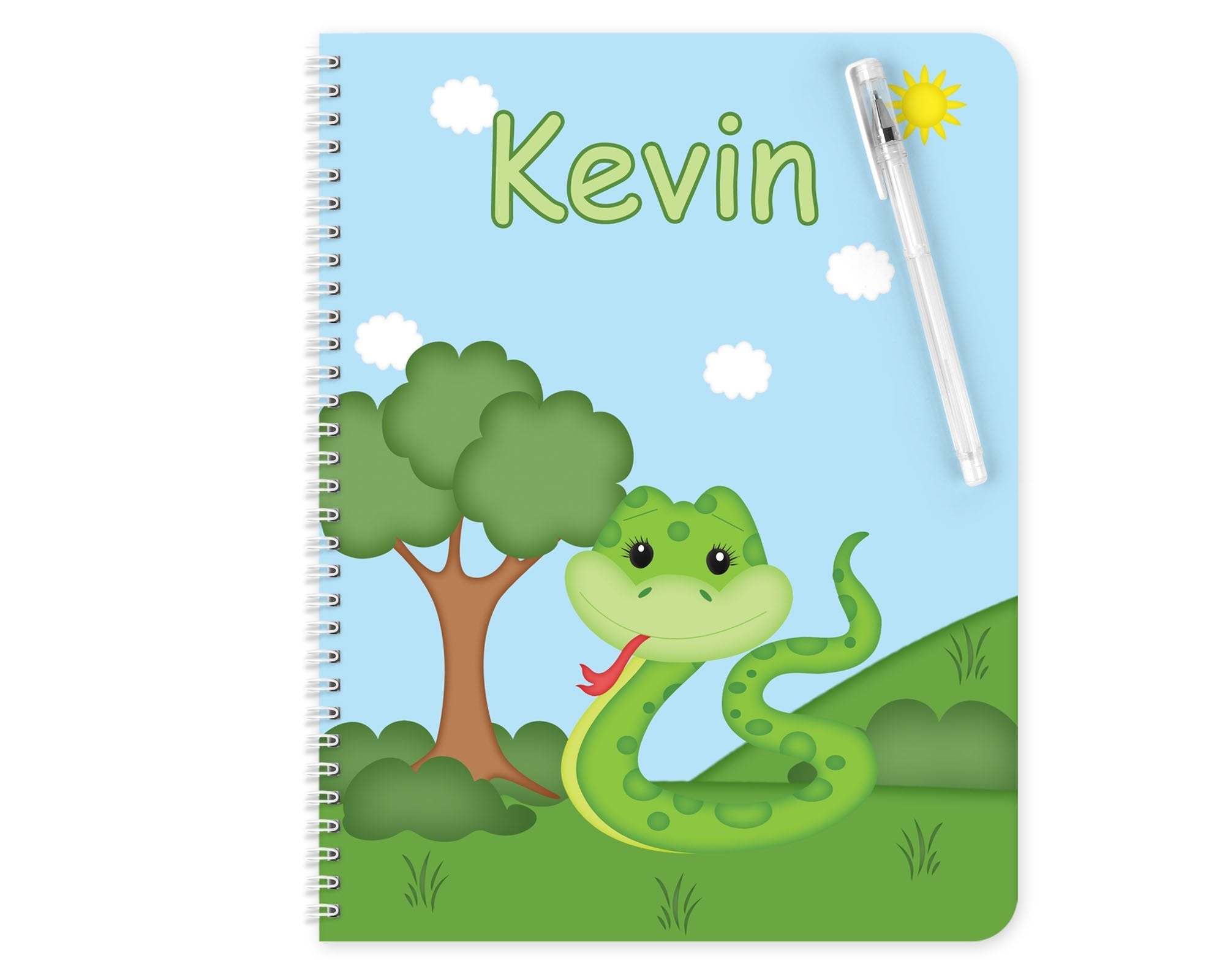 Snake Kids Notebook
