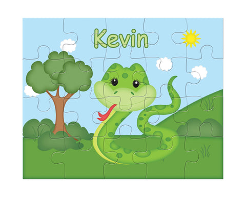 Snake Kids Personalized Puzzle