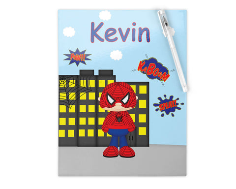 Spider-man Superhero Kids Folder