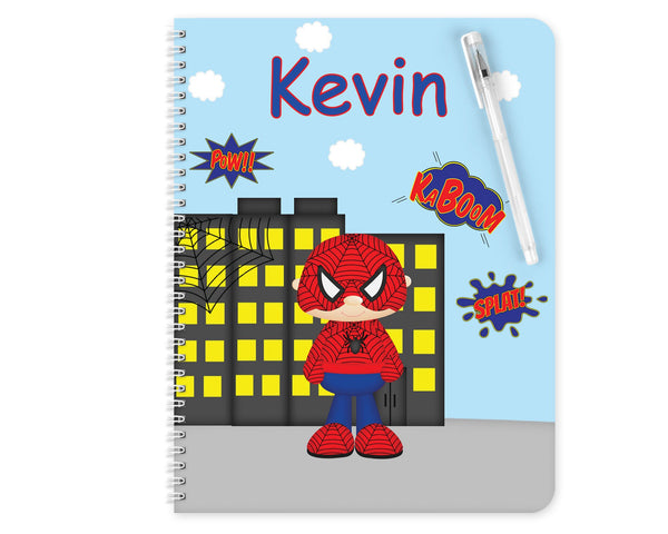 Spider-man Superhero Kids Notebook