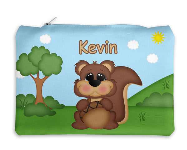 Cute Woodland Squirrel Kids Notebook