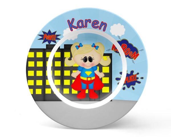 Supergirl Superhero Kids Bowl