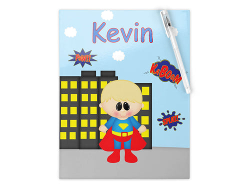 Superman Superhero Kids Folder