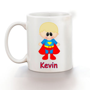 Superman Superhero Kids Mug