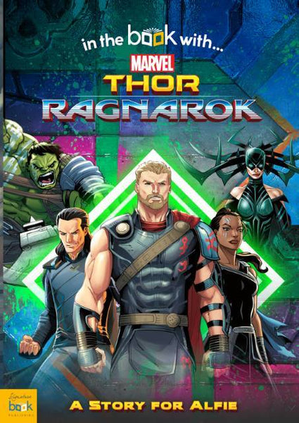 Thor Ragnarok Personalized Marvel Story Book