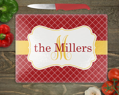 Thanksgiving Personalized Cutting Board