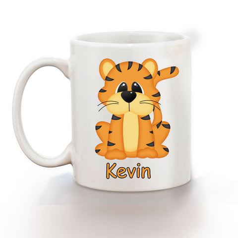 At the Zoo Tiger Kids Mug
