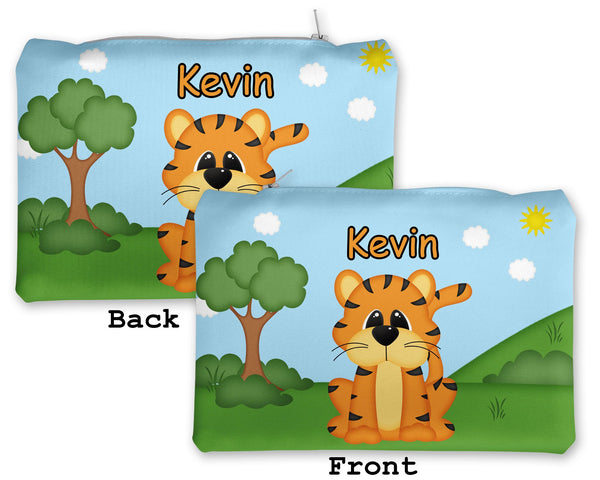 At the Zoo Tiger Kids Pencil Case