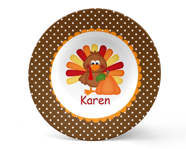 Thanksgiving Turkey Kids Bowl