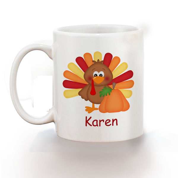 Thanksgiving Turkey Kids Mug