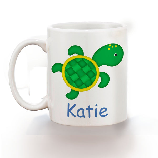 Cute Turtle Kids Mug