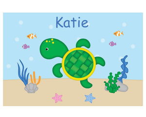 Cute Turtle Kids Placemat
