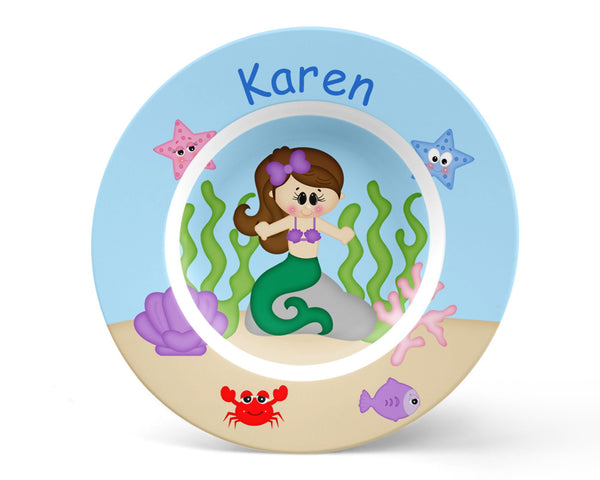 Under the Sea Princess Kids Placemat