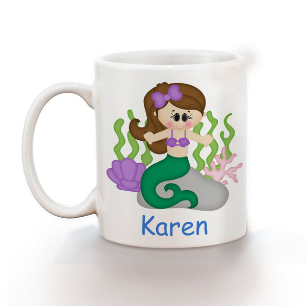 Under the Sea Princess Kids Mug