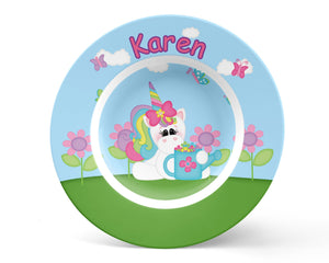 Rainbow Unicorn Kids Bowl