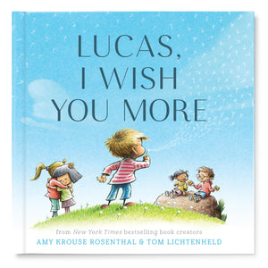 I Wish You More Personalized Story Book