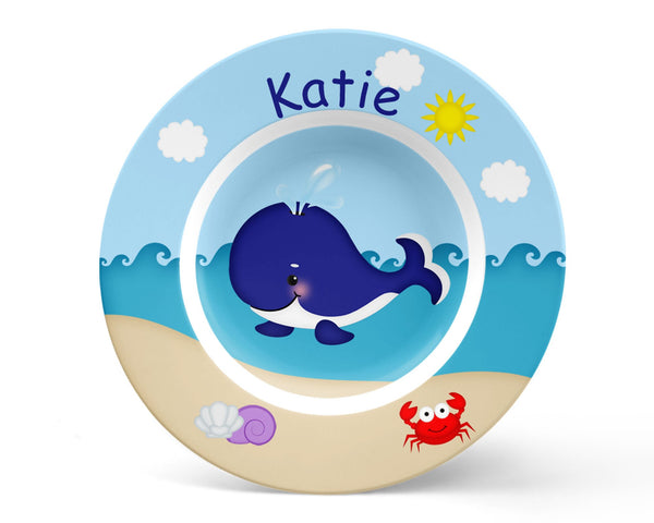 Whale Blue Kids Placemat