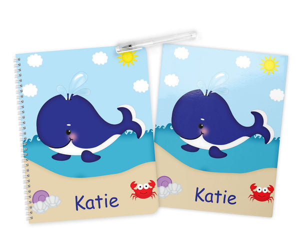 Whale Blue Kids Pencil Case