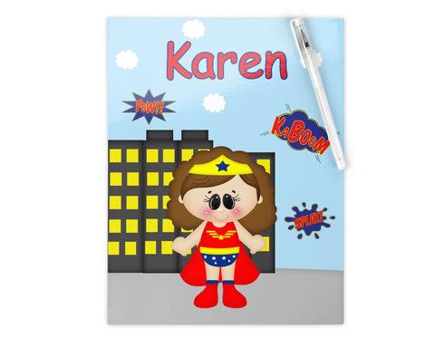 Wonder Women Superhero Kids Folder