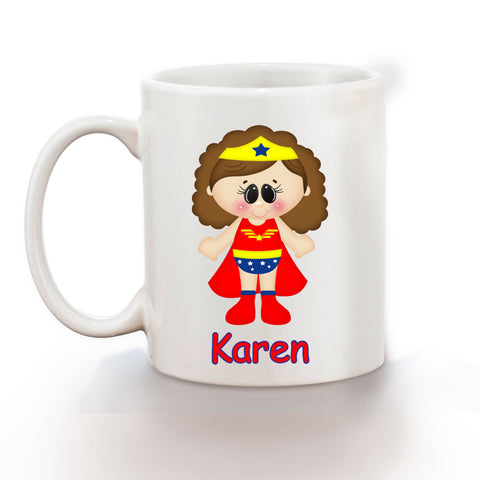 Wonder Women Superhero Kids Mug