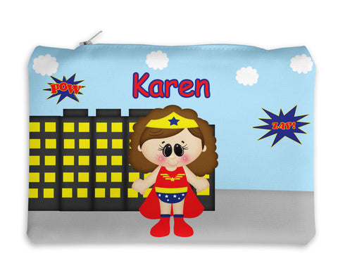Wonder Women Superhero Kids Pencil Case
