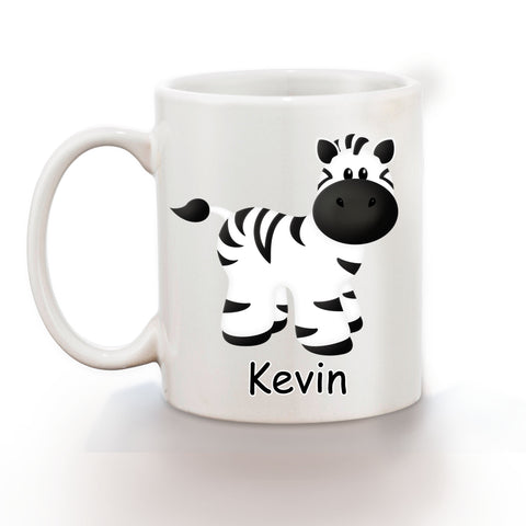 At the Zoo Zebra Kids Mug