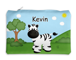 At the Zoo Zebra Kids Pencil Case