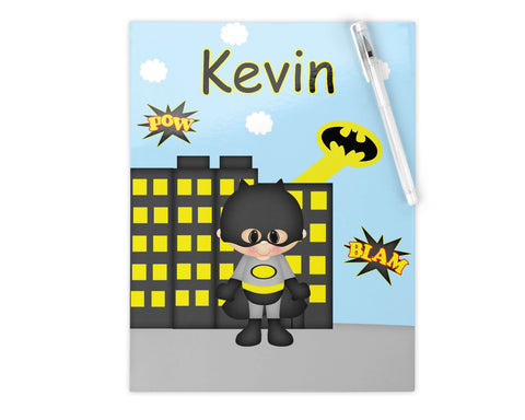 Batman Superhero Kids Folder