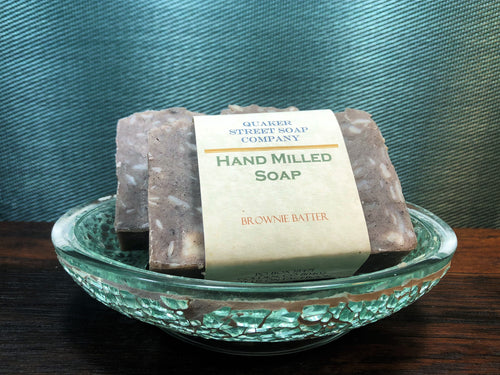 Brownie Batter Hand Milled Soap