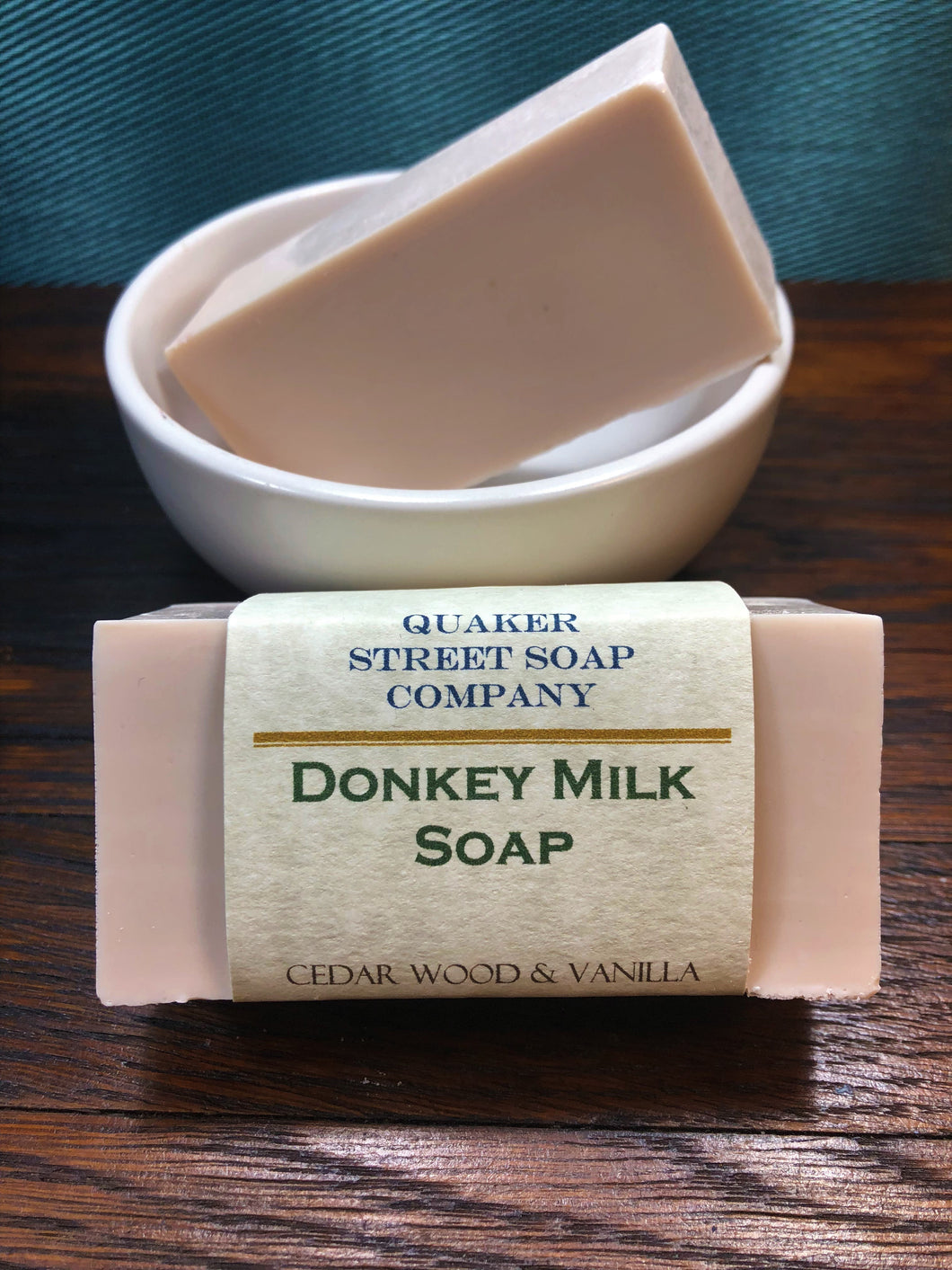 Cedarwood and Vanilla Donkey Milk Soap