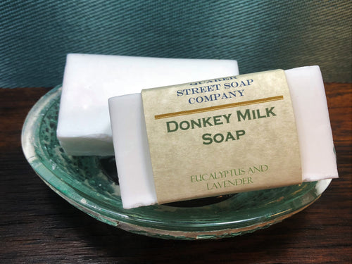 Eucalyptus and Lavender Donkey Milk Soap