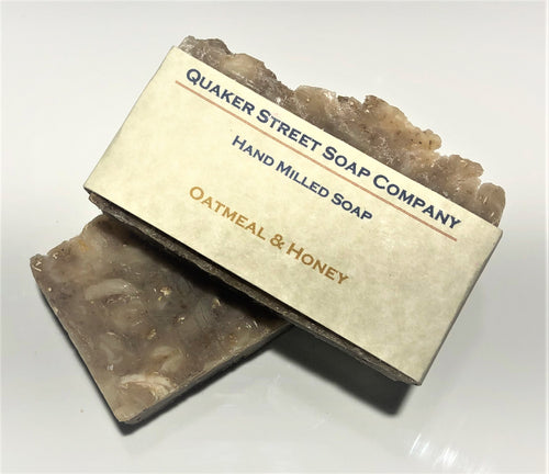 Honey and Oatmeal Hand Milled Soap
