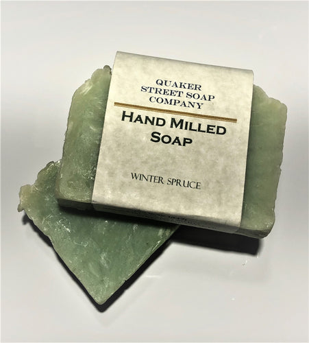 Winter Spruce Hand Milled Soap