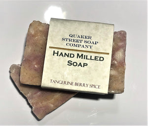 Tangerine and Berry Spice Hand Milled Soap