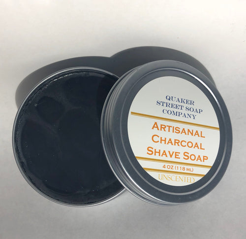 Charcoal Shave Soap