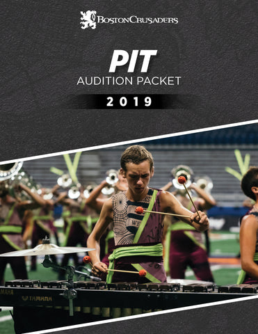 2019 Pit Audition Packet