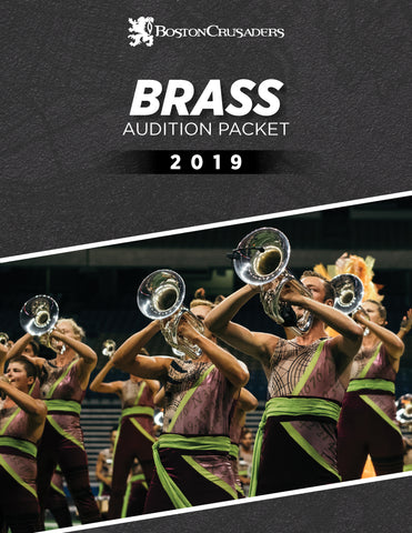2019 Brass Audition Packet