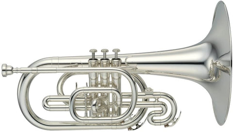 2020 DCI Season (used) - Yamaha YMP-204MS Mellophone w/ Case