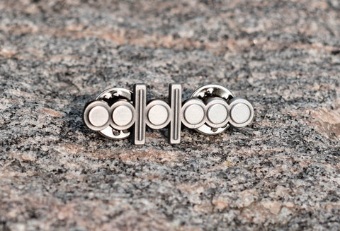 "Conquest Shots Lapel Pin (1.5"", Molded Nickel)"