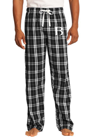 Boston Bus Pants (black & white)