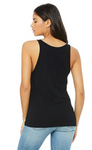 Ladies Relaxed Tank - Black