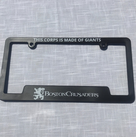 BAC License Plate cover