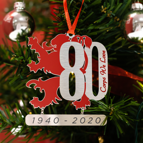 2020 80th Anniversary Ornament