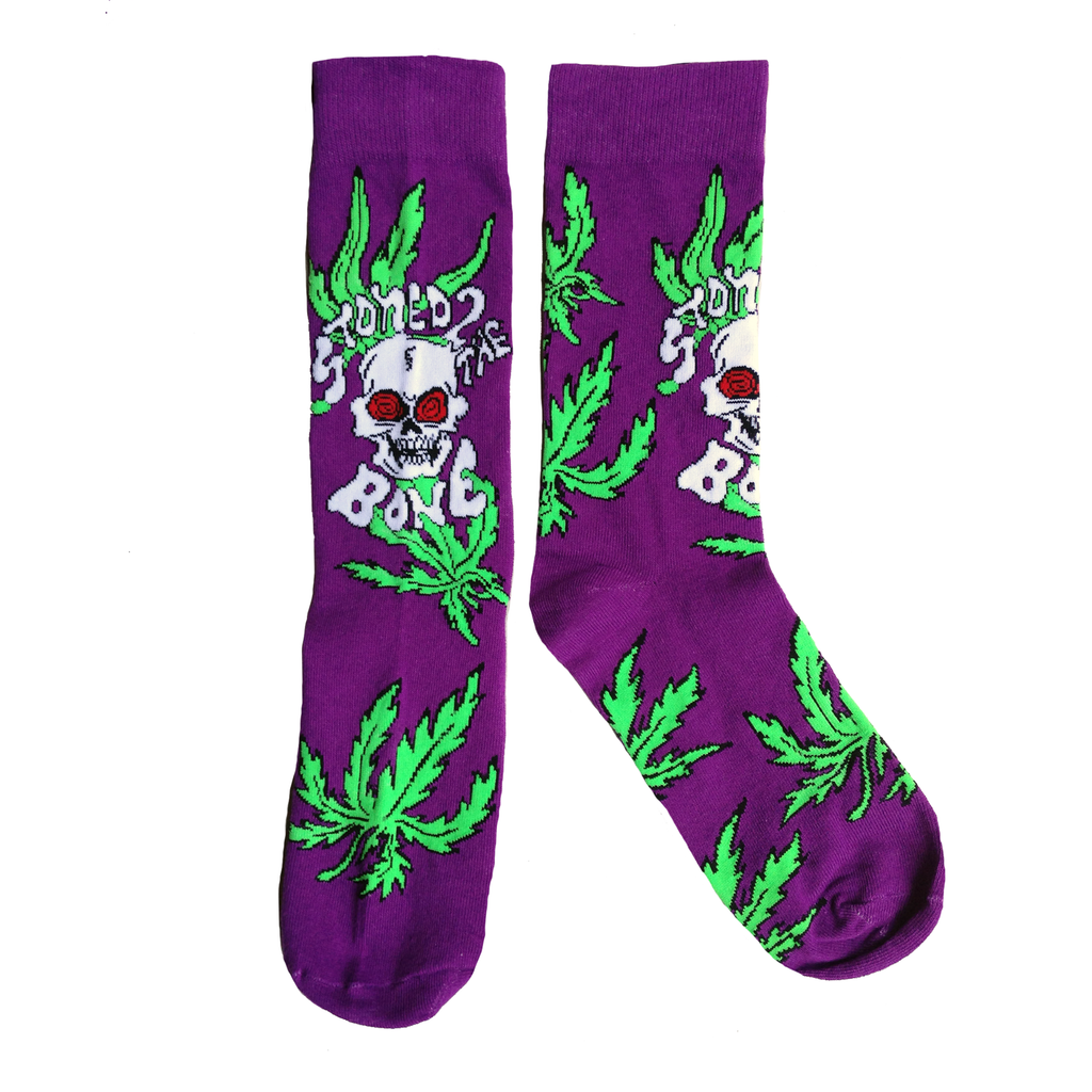 STONED TO THE BONE SOCKS