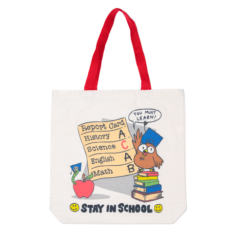 REPORT CARD TOTE BAG