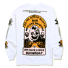ACT OF SANITY LONG SLEEVE TEE by Blake Anderson's clothing brand BORED TEENAGER