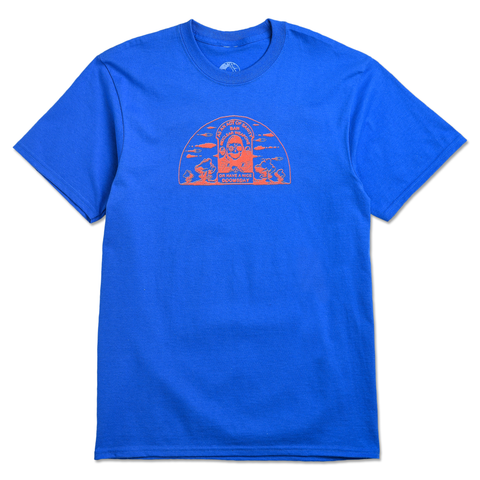 ACT OF SANITY TEE - BLUE